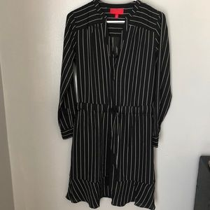 Jennifer Lopez pinstripe dress Size S NWOT